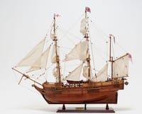 Old Modern Handicrafts Beagle Model Ship