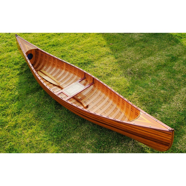Old Modern Handicrafts 10-Foot Ribbed Curved Bow Canoe (C...