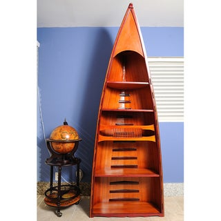 Old Modern Handicrafts Canoe Book Shelf