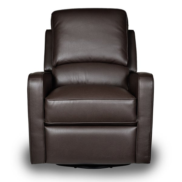 Perth Leather Swivel Glider Recliner - Free Shipping Today - Overstock.com - 15234359  sc 1 st  Overstock.com & Perth Leather Swivel Glider Recliner - Free Shipping Today ... islam-shia.org
