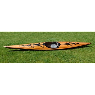 Old Modern Handicrafts 17-Foot Kayak With Arrows Design