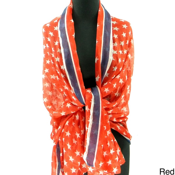 Stars and Stripes Fashion Scarf/Beach Wrap