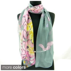 Humming Birds Spring/Summer Fashion Scarf