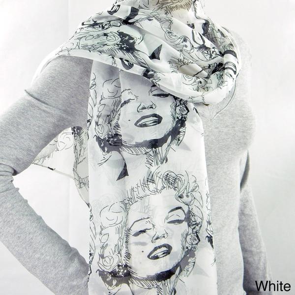 American Icon Marylin Monroe Fashion Scarf