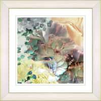 Studio Works Modern 'Champagne Carnation' Framed Print