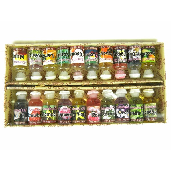 Essential Perfume Oils (Set of 20)