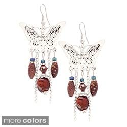 Handmade Butterfly Chandelier Earrings (USA)