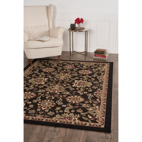 Alise Lagoon Transitional Area Rug (5' x 7') - 5' x 7'