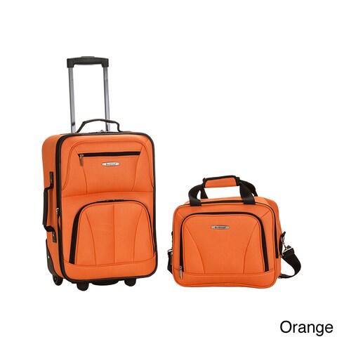 Rockland New Generation 2-Piece Lightweight Carry-On Softsided Luggage Set