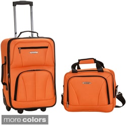 Rockland New Generation 2-Piece Lightweight Carry-On Softsided Luggage Set