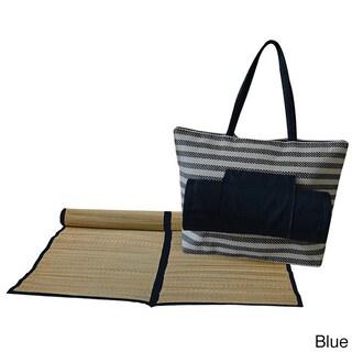 Worthy Beach Bag with Mat