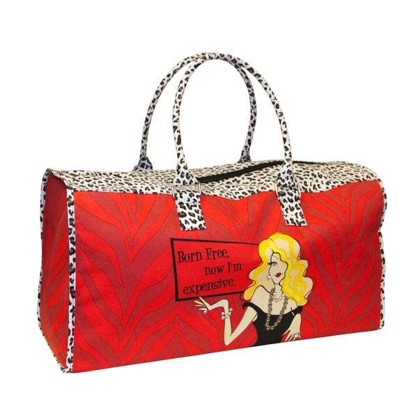 American Atelier Working Everyday Girls 'Born Free' Overnighter Duffel Bag