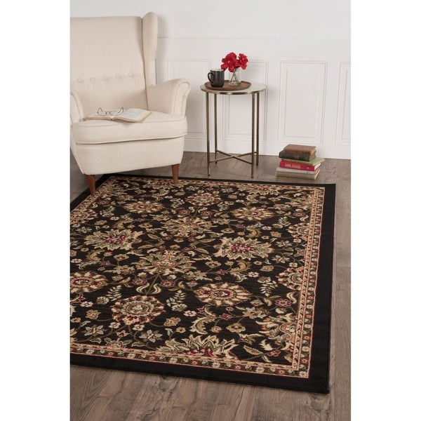 Alise Lagoon Transitional Area Rug - 7'6 x 9'10