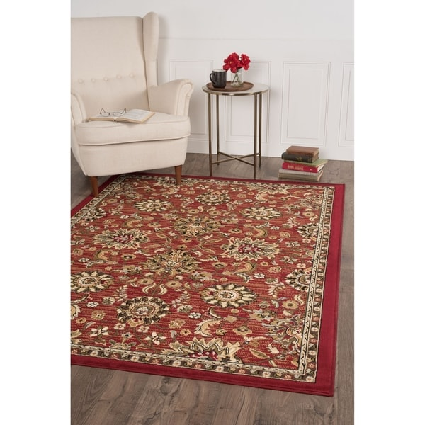 Alise Lagoon Transitional Area Rug - 5' x 7'