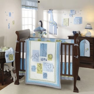 Lambs & Ivy Zootopia 4-piece Crib Bedding Set