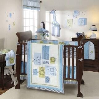 Lambs & Ivy Zootopia 4-piece Crib Bedding Set