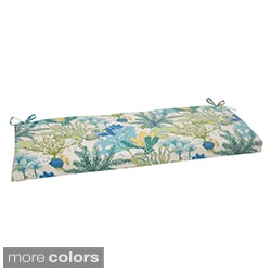 Pillow Perfect 'Splish Splash' Outdoor Bench Cushion