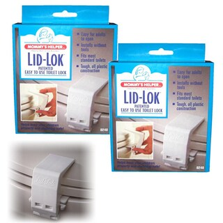 Mommy's Helper Toilet Seat Lid-Loks (Pack of 2)