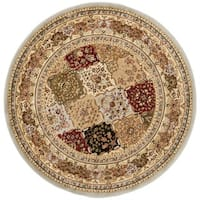 Safavieh Lyndhurst Traditional Oriental Grey/ Multicolored Rug - 5'3 round
