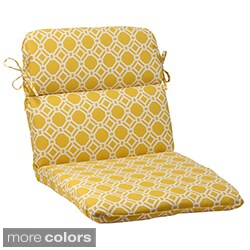 Pillow Perfect 'Rossmere' Outdoor Rounded Chair Cushion