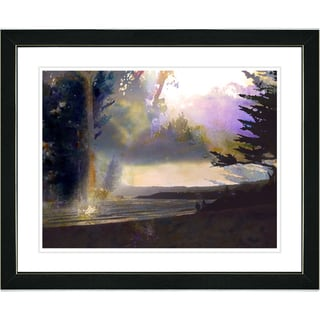 Studio Works Modern 'Carmel Sunset' Framed Print