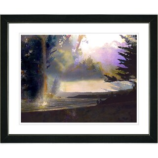 Studio Works Modern 'Carmel Sunset' Framed Print