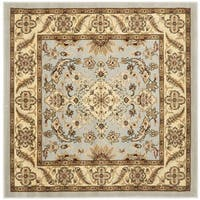 Safavieh Lyndhurst Traditional Oriental Grey/ Beige Rug - 5' Square
