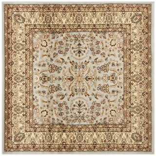 Safavieh Lyndhurst Traditional Oriental Grey/ Beige Rug (7' Square)