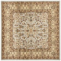 Safavieh Lyndhurst Traditional Oriental Grey/ Beige Rug - 7' Square