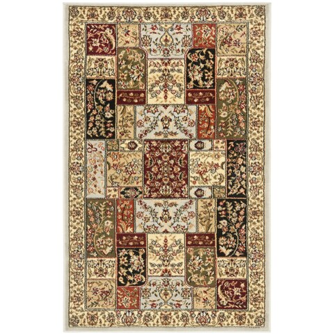 "Safavieh Lyndhurst Traditional Oriental Grey/ Multi Rug - 2'3"" x 4'"