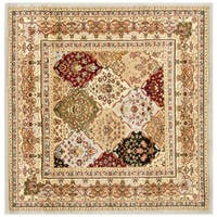 Safavieh Lyndhurst Traditional Oriental Grey/ Multicolored Rug - 5' x 5' Square