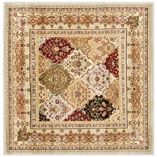 Safavieh Lyndhurst Traditional Oriental Grey/ Multicolored Rug - 5' Square