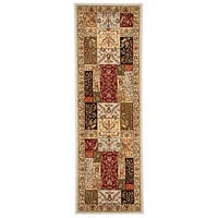 "Safavieh Lyndhurst Traditional Oriental Grey/ Multi Rug - 2'3"" x 7'"
