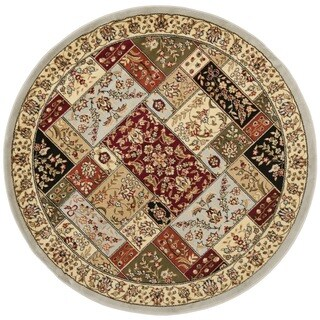 Safavieh Lyndhurst Traditional Oriental Grey/ Multi Rug (5'3 Round)