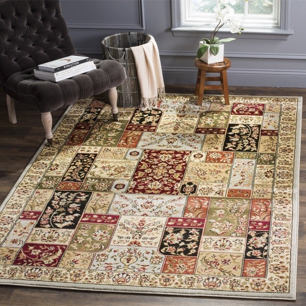 Safavieh Lyndhurst Traditional Oriental Grey/ Multi Rug - 5' x 5' Square