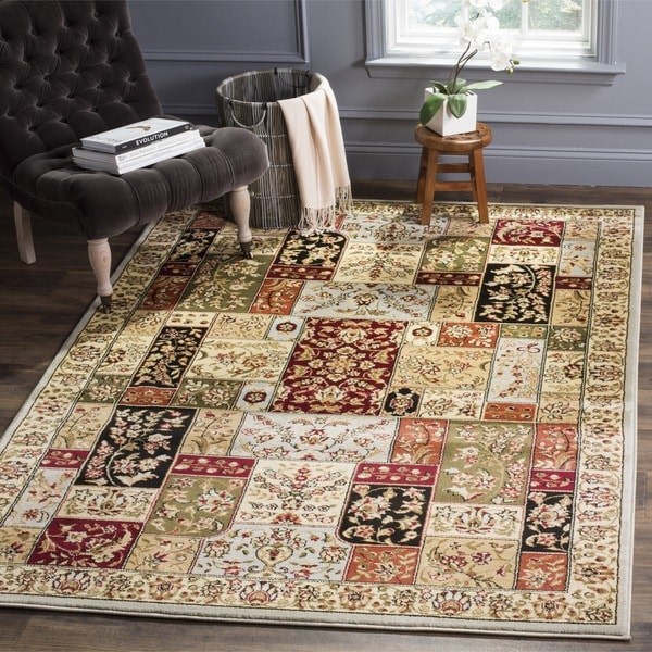 Safavieh Lyndhurst Traditional Oriental Grey/ Multi Rug (8' x 11')