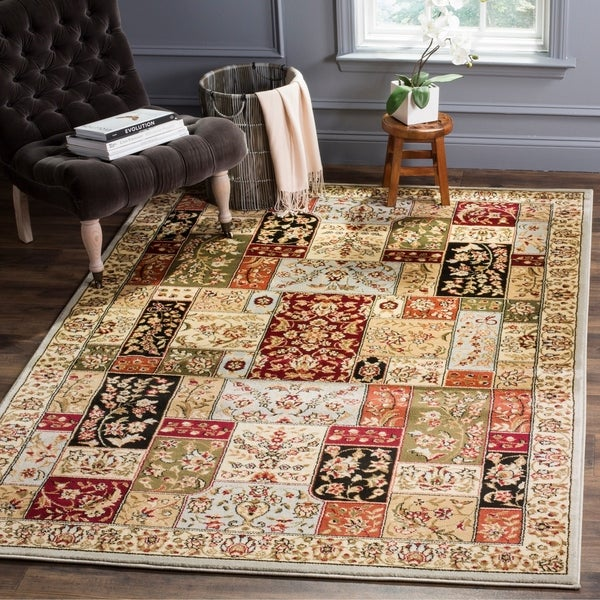 Safavieh Lyndhurst Traditional Oriental Grey/ Multi Rug - 8'11 x 12'
