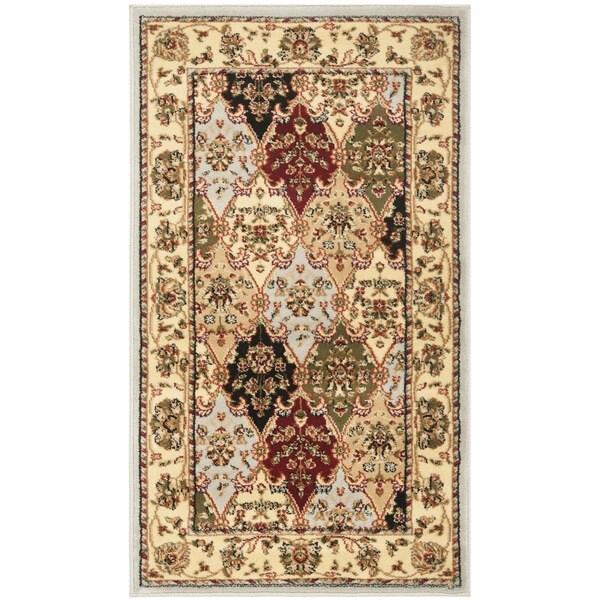 Safavieh Lyndhurst Traditional Oriental Grey/ Multicolored Rug (2'3 x 4')