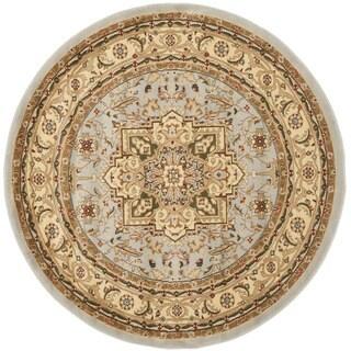 Safavieh Lyndhurst Traditional Oriental Grey/ Beige Rug - 5'3 round