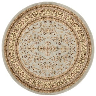 Safavieh Lyndhurst Traditional Oriental Grey/ Beige Rug - 6' Round