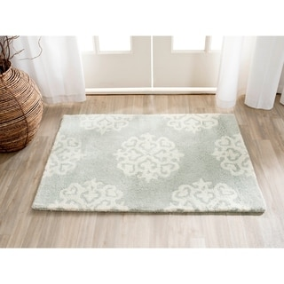 Safavieh Contemporary Handmade Soho Grey/ Ivory New Zealand Wool Rug (2' x 3')