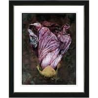 Studio Works Modern 'Lilac Flower Bud' Framed Print