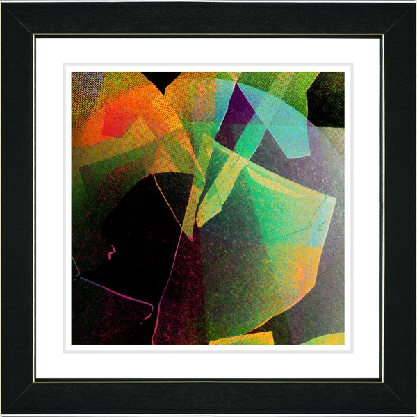 Studio Works Modern 'Appalachian Journey - Orange' Framed Print