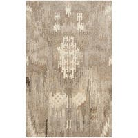 Contemporary Safavieh Handmade Wyndham Natural New Zealand Wool Rug - 2'6 x 4'