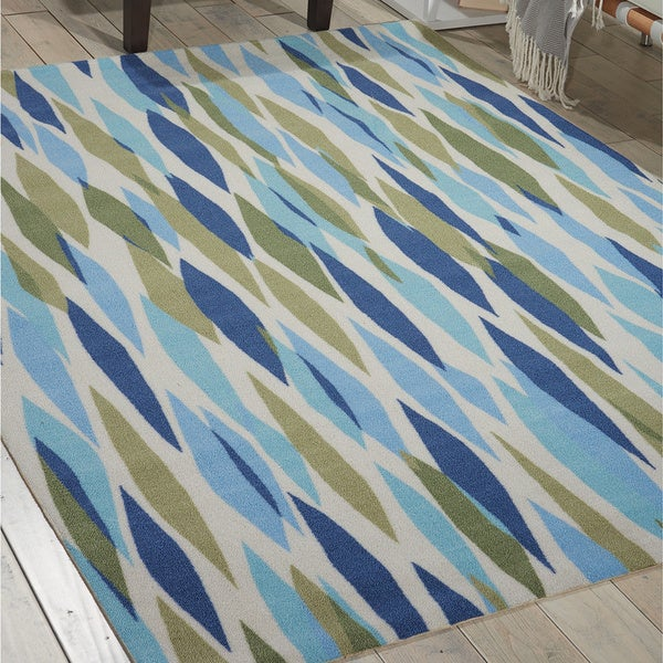 Waverly Sun N Shade Bits Amp Pieces Seaglass Area Rug By