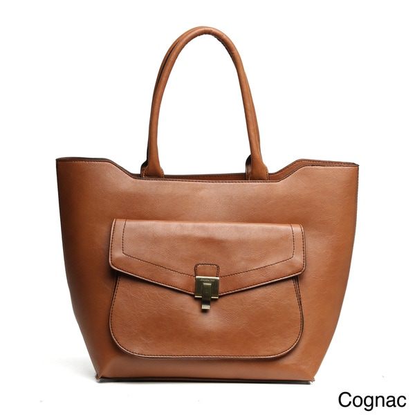 f83253f6ed3 Shop London Fog  Wesley  Tote Bag with Front Pocket - Free Shipping ...