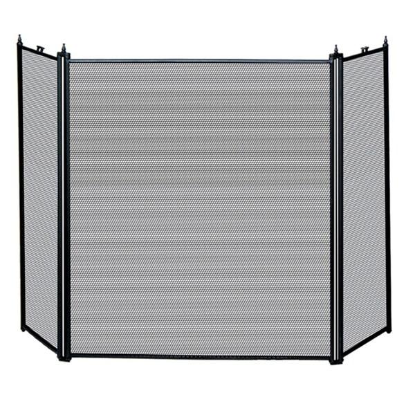 uniflame fireplace screen uniflame 3fold black fireplace screen shop free shipping today