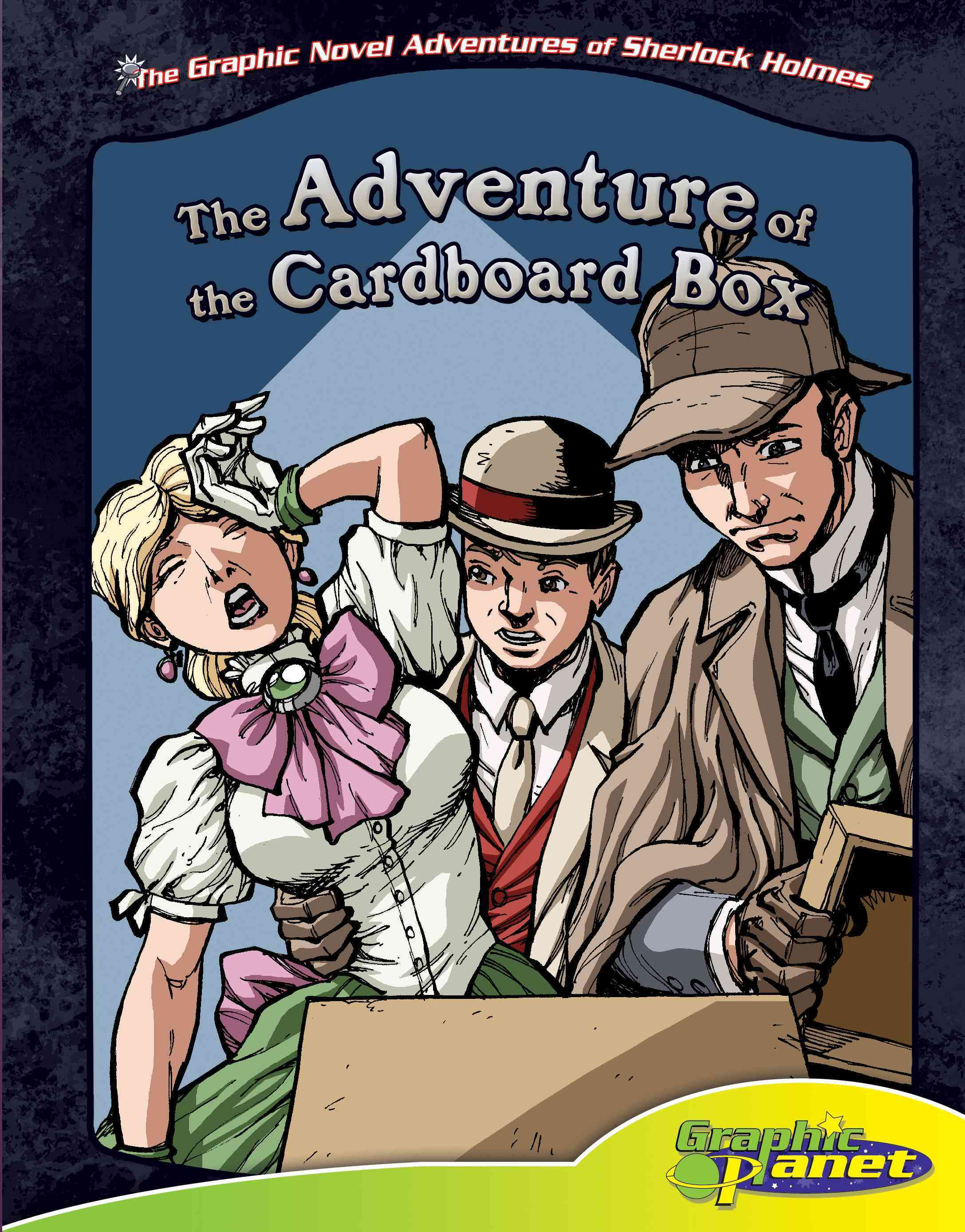 The Adventure of the Cardboard Box (Hardcover)