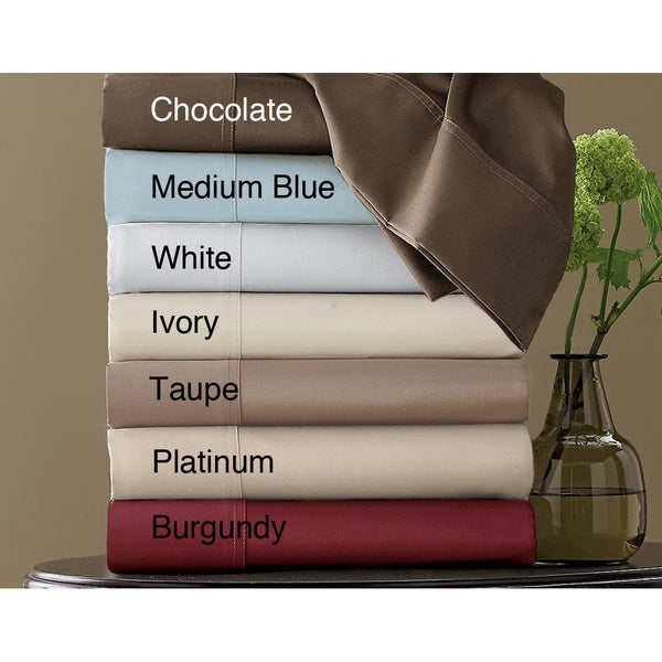 Hotel Grand Egyptian Cotton Blend 800 Thread Count Sateen Sheet Set