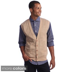 American Apparel Men's Lightweight Knit Long Grid 5-button Vest